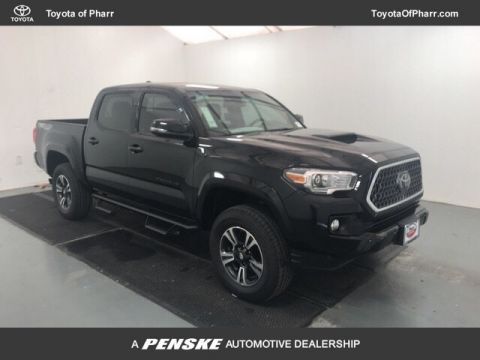 New 2018 Toyota Tacoma TRD Sport Double Cab 5' Bed V6 4x4 Automatic