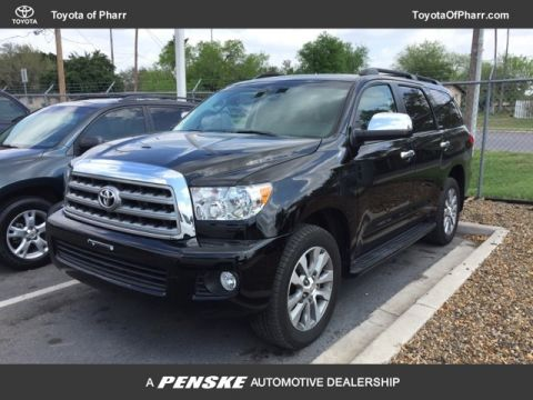 Certified Pre-Owned 2017 Toyota Sequoia Limited