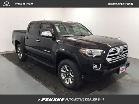 New 2018 Toyota Tacoma Limited Double Cab 5' Bed V6 4x4 Automatic