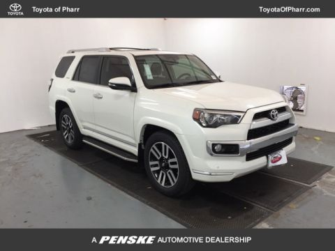 New 2018 Toyota 4Runner Limited 2WD